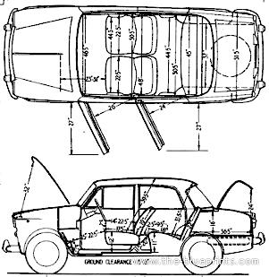 Fiat 1100D (1963)