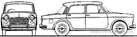 Fiat 1100D Millecento (1964)