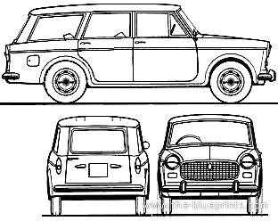 Fiat 1100D Millecento Familiare (1964)