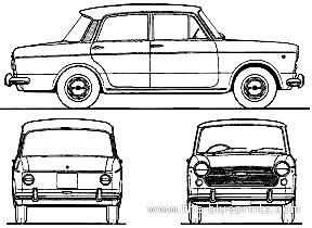 Fiat 1100R Millecento (1967)