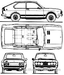 Fiat 128 3P (1977)