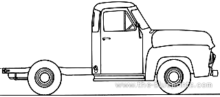 Ford_f 100_pick Up_%281954%29