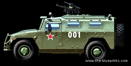 GAZ-233014 STS Tiger