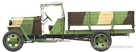 GAZ-MM Truck 1.5t (1941)