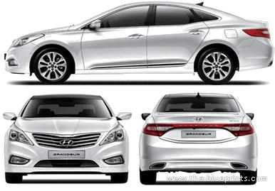 Hyundai 5G Grandeur (2013)