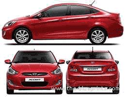 Hyundai Accent i25 (2011)