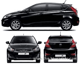 Hyundai Accent Wit (2011)