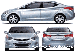 Hyundai Avante (2011)
