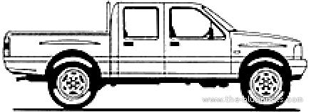 Isuzu Ipon Twin Cab (1996)