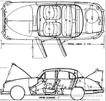 Jaguar Mk.II 3.8 (1963)