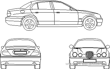 Jaguar S-Type (2001)