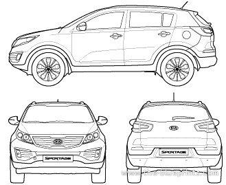 The Blueprints Com Blueprints Gt Cars Gt Kia Gt Kia