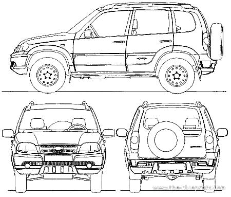 Lada Chevrolet Niva (2009)