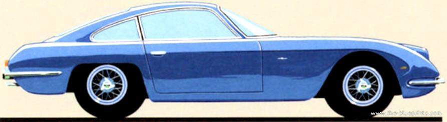 the blueprints com blueprints gt cars gt lamborghini gt lamborghini 350 gt 1964