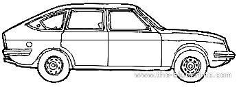 Lancia Beta 1400 (1974)