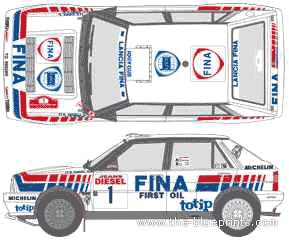 Lancia Dedra HF 16v WRC (1991)