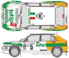 Lancia Dedra Integrale WRC (1993)