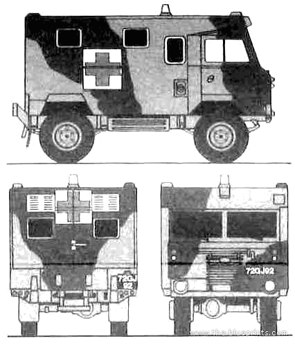 Land Rover 101 FC Ambulance 1ton