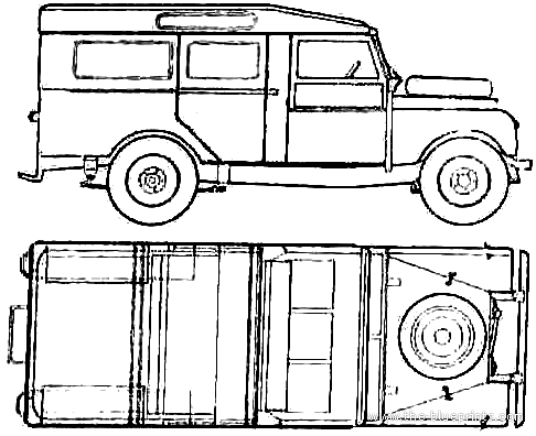 Land Rover 107 S1 (1956)