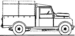 Land Rover 107 S1 Pick Up