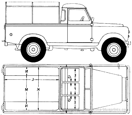 Land Rover 109 Pick-up (1969)