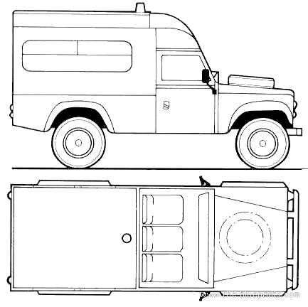 Land Rover 110 Ambulance