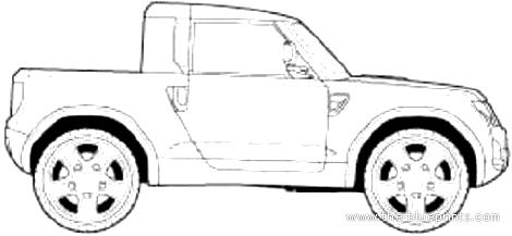 Land Rover Defender Pick-up (2015)