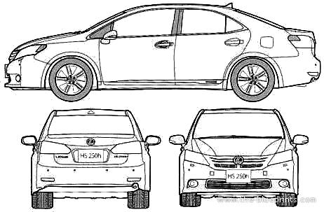 Lexus HS250h (2010)