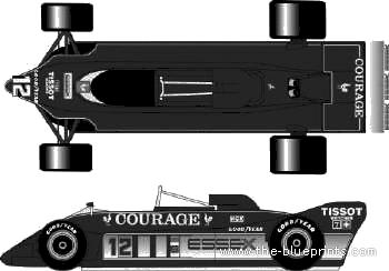 Lotus 88B F1 GP (1981)