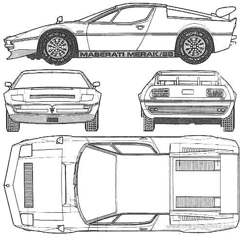 Maserati Merak SS (1976)