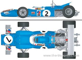 Matra MS80 F1 GP (1969)