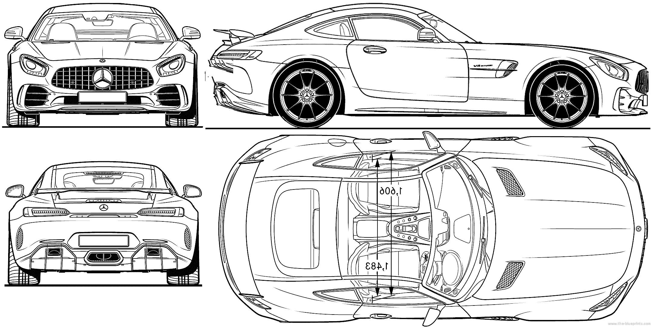 blueprints gt cars gt mercedesbenz gt mercedesamg gt r v8