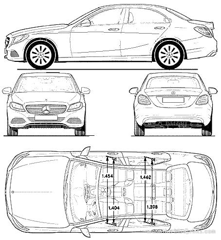 Mercedes Benz_c Class_(2014)