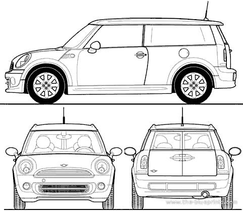 Blueprints Gt Cars Gt Mini Gt Mini Clubman 2013