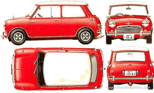 Morris Mini Cooper S Mk.I 1275cc