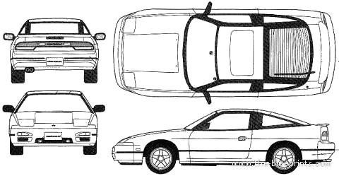 Blueprints Gt Cars Gt Nissan Gt Nissan 180sx S13
