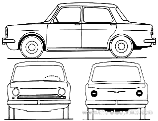 Simca 1000 (1962)