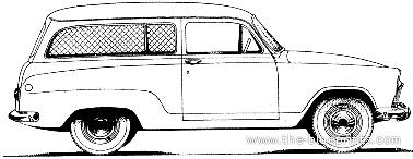 Simca Aronde P60 Artisanale (1960)