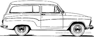 Simca Aronde P60 Chatelaine (1960)