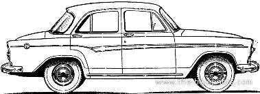 Simca Aronde P Elysee Door on 2004 Honda Accord Standard Engine Diagram