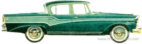 Studebaker President Classic Sedan (1956)