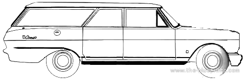 Acadian Canso Station Wagon (1966)