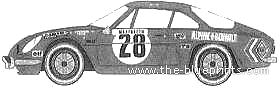 Alpine A110 Monte Carlo (1971)