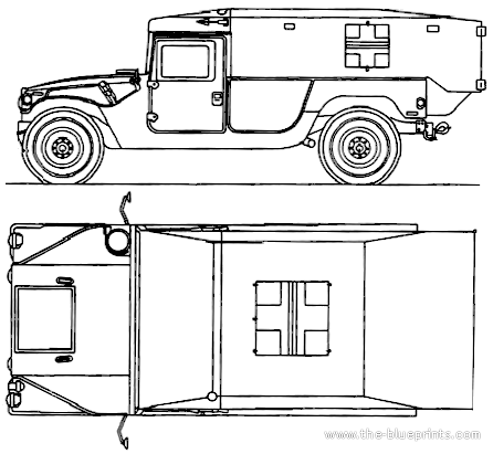 AM General HMMWV M996 Ambulance