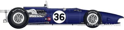 Anglo-American Eagle T1G F1 GP (1967)