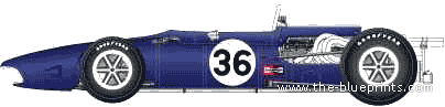 Anglo-American Eagle T1G F1 GP (1967)