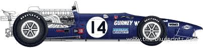 Anglo-American Eagle T1G F1 GP (1968)