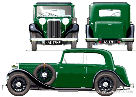 Armstrong Siddeley 17hp Sports Foursome (1934)
