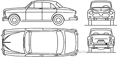 Volvo 121 Amazon (1960)