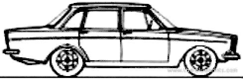 Volvo 144 (1968)